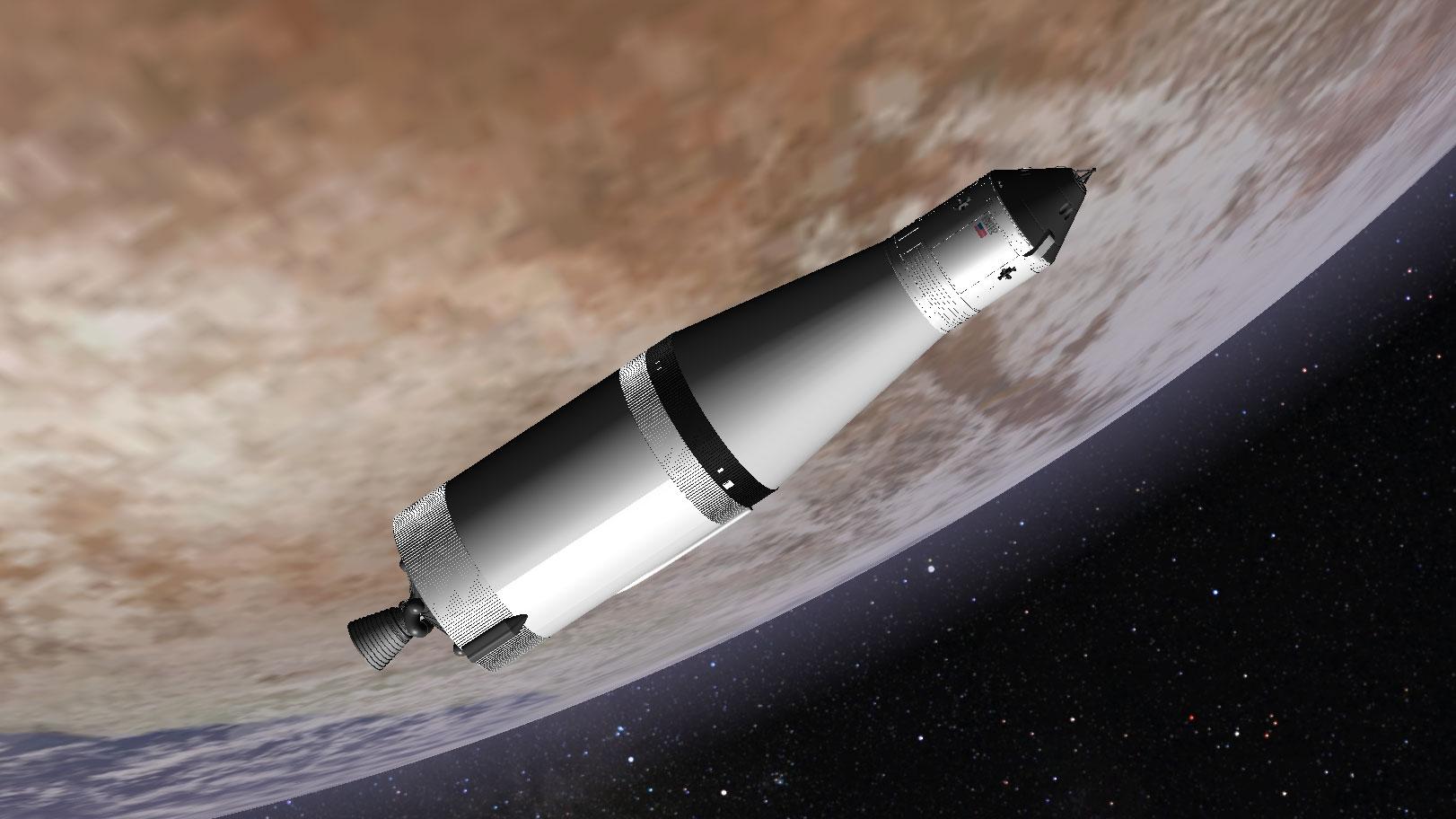 mission apollo spacecraft - photo #17